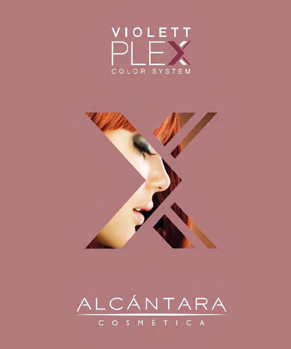 ViolettPlex, Protein Packung während der Haarfarbe und Blondierung,Dauerwelle